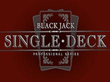 Азартная игра Блекджек Одной Колодой Про Серия